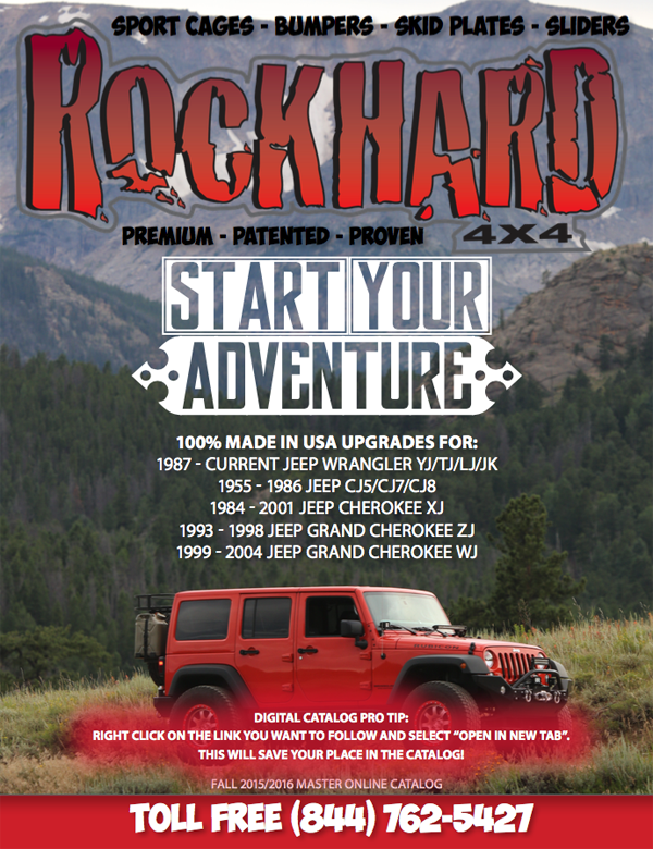 Rock Hard 4x4 2015 Digital Catalog