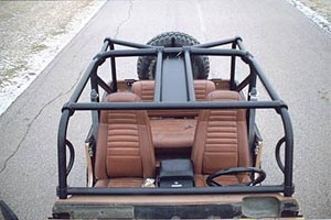 Rock Hard 4x4™ Bolt-In Ultimate Sport Cage for Jeep CJ7 ...