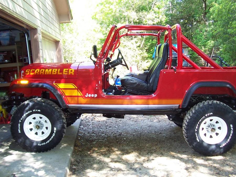 Jeep Wrangler Tj Build >> Rock Hard 4x4™ Bolt-In Ultimate Sport Cage for Jeep CJ8 Scrambler Pickup Cab 1981 - 1986 [RH-1005]
