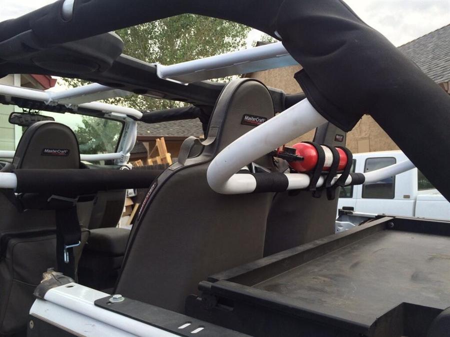 Rock Hard 4x4™ Rear Bench Harness Bar for Jeep Wrangler JK ...