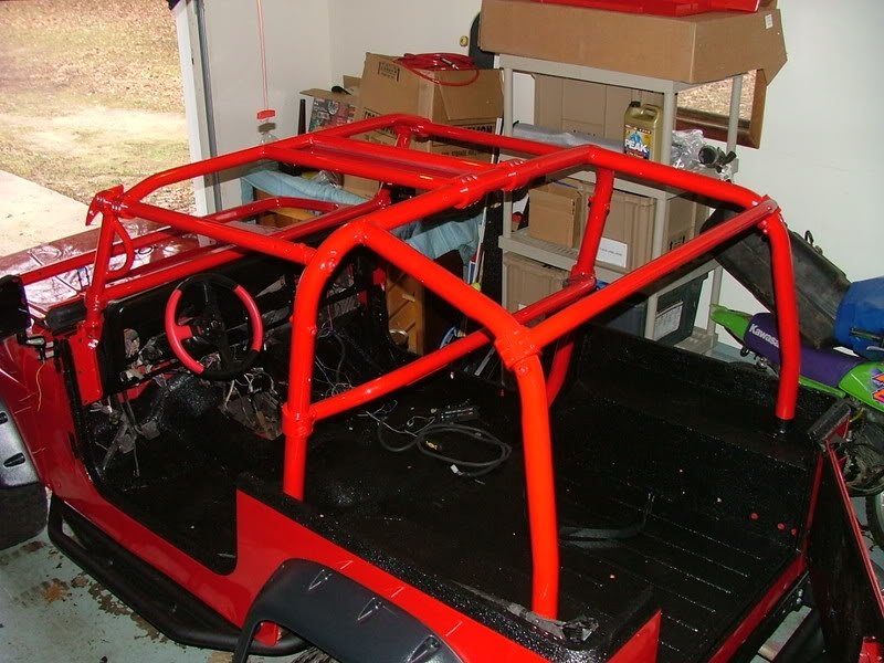 Rock Hard 4x4 U2122 Front Seat Harness Bar For Jeep Wrangler Jk 2dr 2007