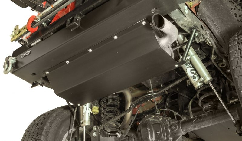 Rock Hard 4x4 Muffler Skid Plate For Rh4x4 Rear Bumper