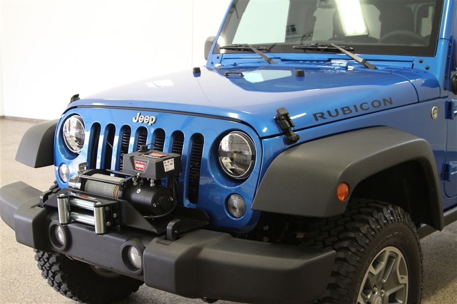 Rock Hard 4x4 Patriot Series Winch Plate For Factory