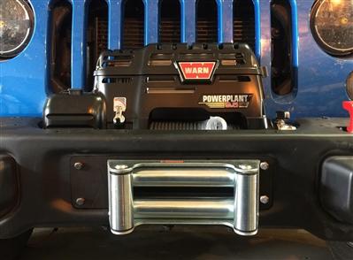 Rh T on Jeep Grand Cherokee Winch Bumper