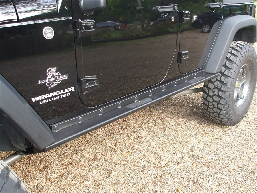 Rock Hard 4x4 Patriot Series Quot Boat Side Quot Rock Sliders W