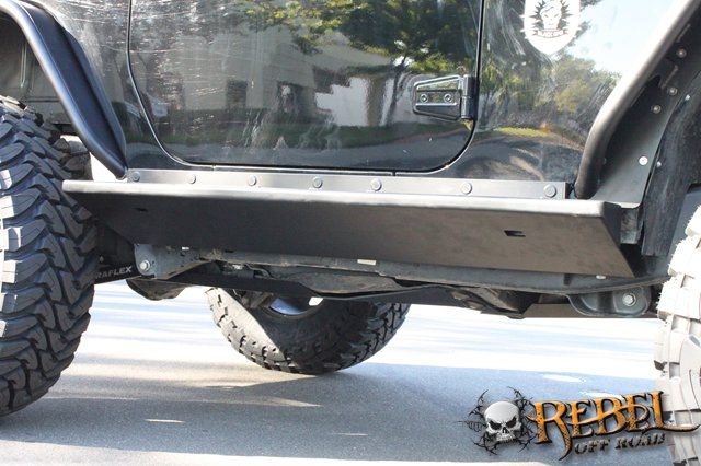 Rock Hard 4x4 Patriot Series Quot Boat Side Quot Rock Sliders W