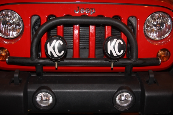 Rock Hard 4x4 Light Mount With Grille Guard For Factory