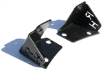 Rock Hard 4x4™ A-Pillar Windshield Light Mounts (pair) for Jeep Wrangler YJ/TJ/LJ 1987 - 2006 [RH-6067]