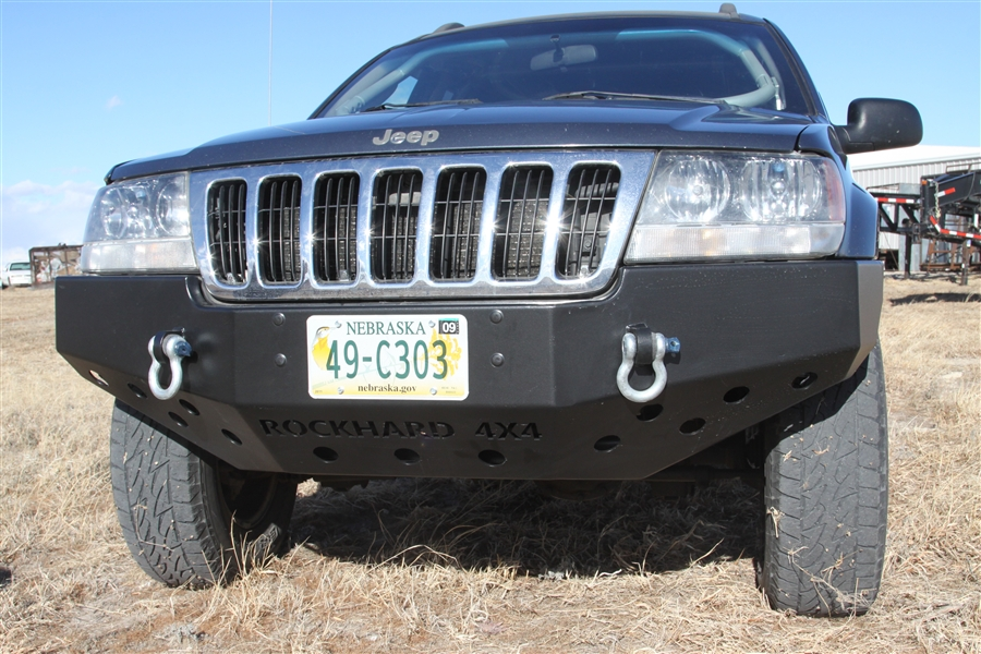 Rock Hard 4x4 Patriot Series Front Bumper For Jeep Grand
