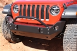 Rock Hard 4x4™ Patriot Series Mid-Width Front Bumper for Jeep Wrangler JL 2018 - Current [RH-90215]