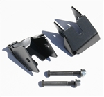 Rock Hard 4x4™ Bolt-On Rear Lower Control Arm Skid Plates for Jeep Wrangler JK 2007 - 2018 D44 [RH-9031]
