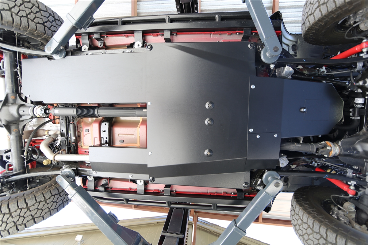Rock Hard 4x4 Complete Bellypan Skid Plate System With