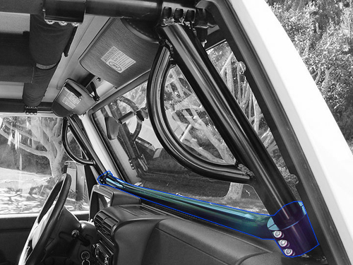 Rock Hard 4x4™ Bolt-In Ultimate Sport Cage for Jeep Wrangler ...