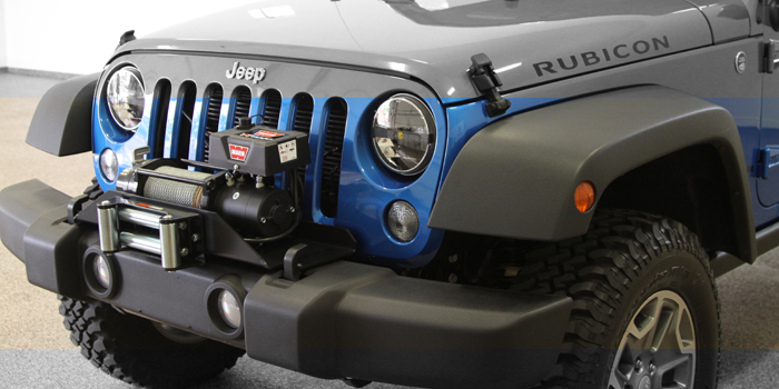 Jeep Jk Winch Plates And Light Mounts