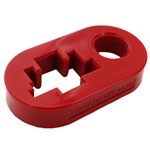 Hi-Lift™ Jack Handle-Keeper / Isolator Red [HL-HKR]
