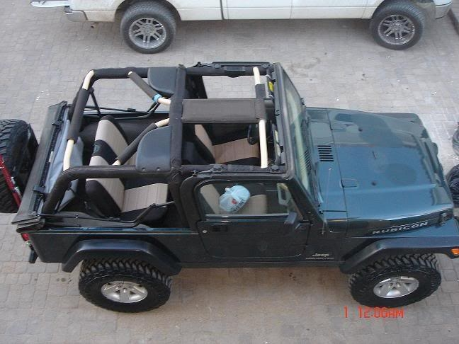 Rock Hard 4x48482 Straight Across The Rear Bar For Jeep
