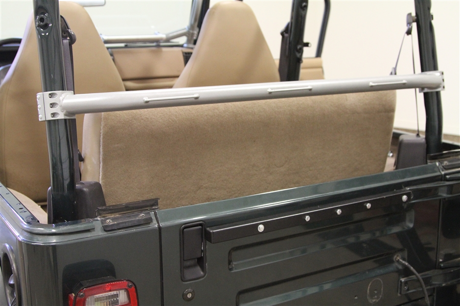 rock hard 4x4™ rear seat harness bar for jeep wrangler tj 1997 - 2006  [rh-1001-j]  rock hard 4x4