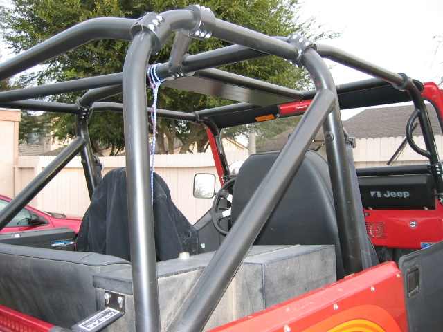 Jeep Rock Sliders >> Rock Hard 4x4™ Bolt-In Ultimate Sport Cage for Jeep CJ7 ...
