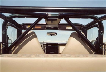 Rock Hard 4x4™ Angled Harness Bar Driver Side for Jeep CJ5, CJ7, Wrangler YJ, TJ, and Unlimited LJ 1979 - 2006 [RH-1004-LT]