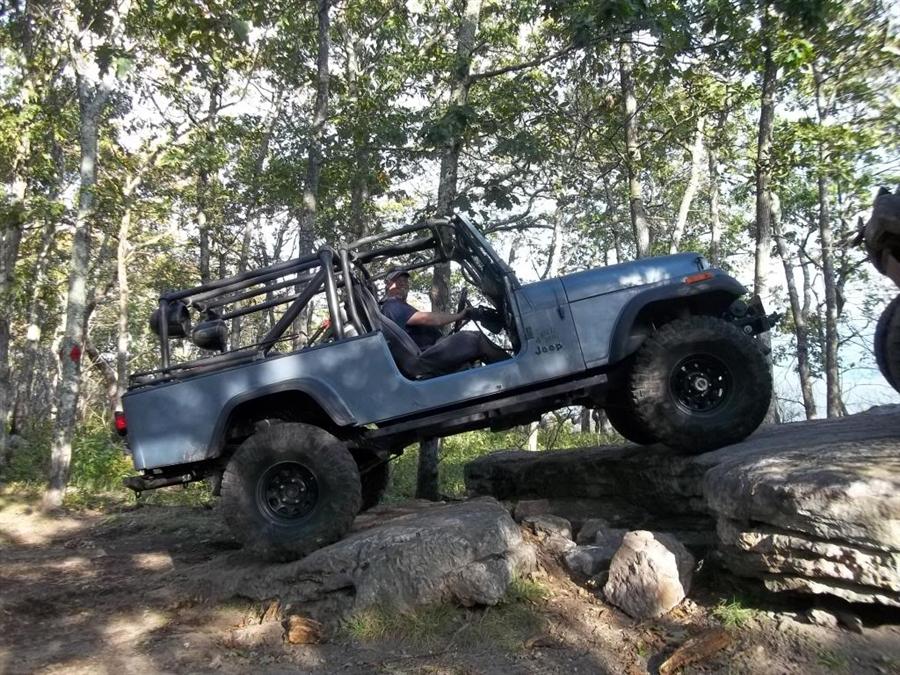 New Ford Bronco >> Rock Hard 4x4™ Bolt-In Rear Sport Cage for Jeep CJ8 Scrambler 1981 - 1986 [RH-1005-A]