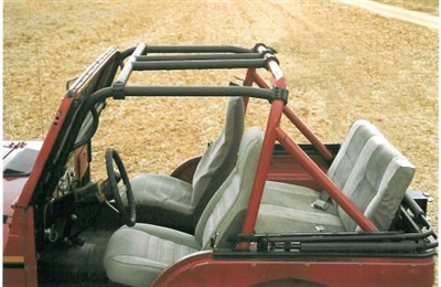 Ford Bronco 2 >> Rock Hard 4x4™ Bolt-In Ultimate Sport Cage for Jeep CJ5 ...