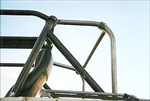 Rock Hard 4x4™ Family Style Rear Side Bars with Straight Across Rear Bar for CJ5 1979 - 1983 [RH-1008-A]