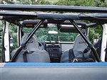 Rock Hard 4x4™ Angled Harness Bar Driver Side for Jeep CJ5 and CJ7 1976 - 1978 [RH-1009-LT]