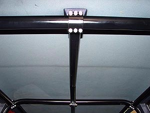 Rock Hard 4x4™ Front Overhead Center Bar for Jeep Cherokee XJ 4DR 1984 - 1996 [RH-1012-A]