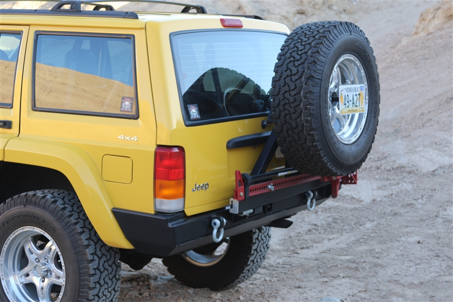 Tire Carrier For Jeep Cherokee XJ 1984