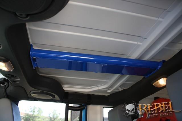 Rock Hard 4x4™ Rear Overhead Center Bars for Jeep Wrangler ...