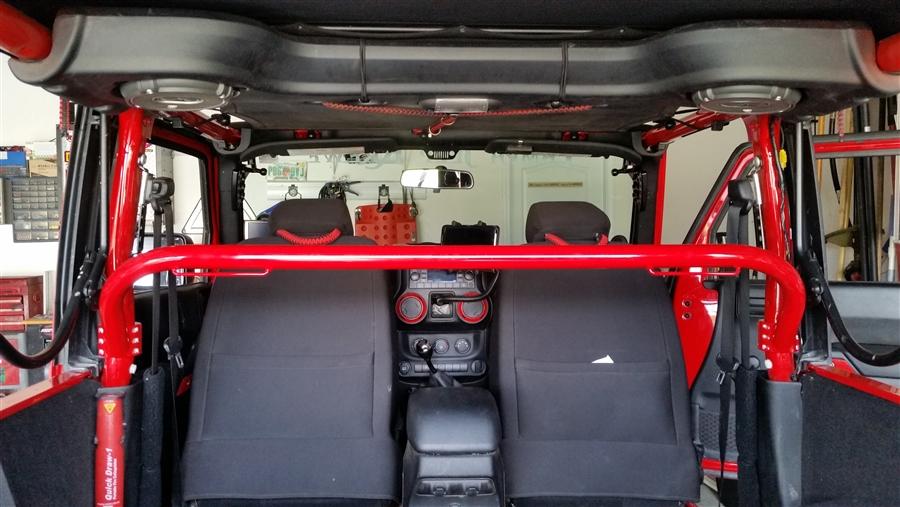 Rh Sfh on Jeep Seat Belt Harness