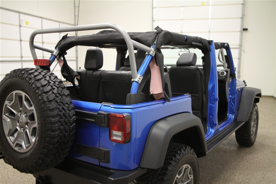 Jeep With 3rd Row >> Rock Hard 4x4 8482 3rd Row Sport Cage For Jeep Wrangler Jk 4dr