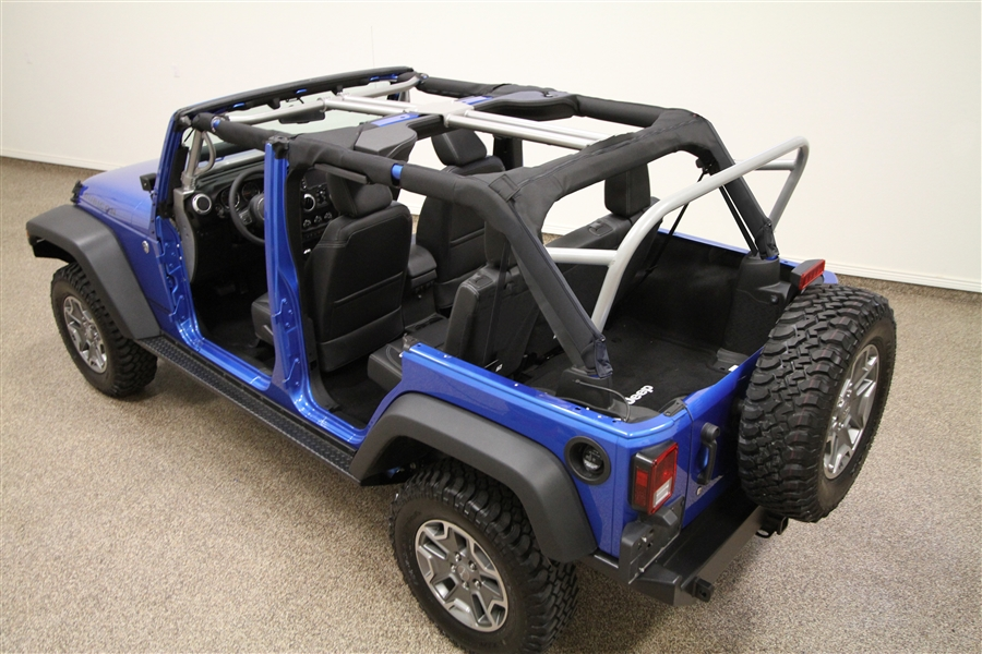 3 Row Jeep >> Rock Hard 4x4 3rd Row Sport Cage For Jeep Wrangler Jk 4dr 2007 2018 Rh 1032