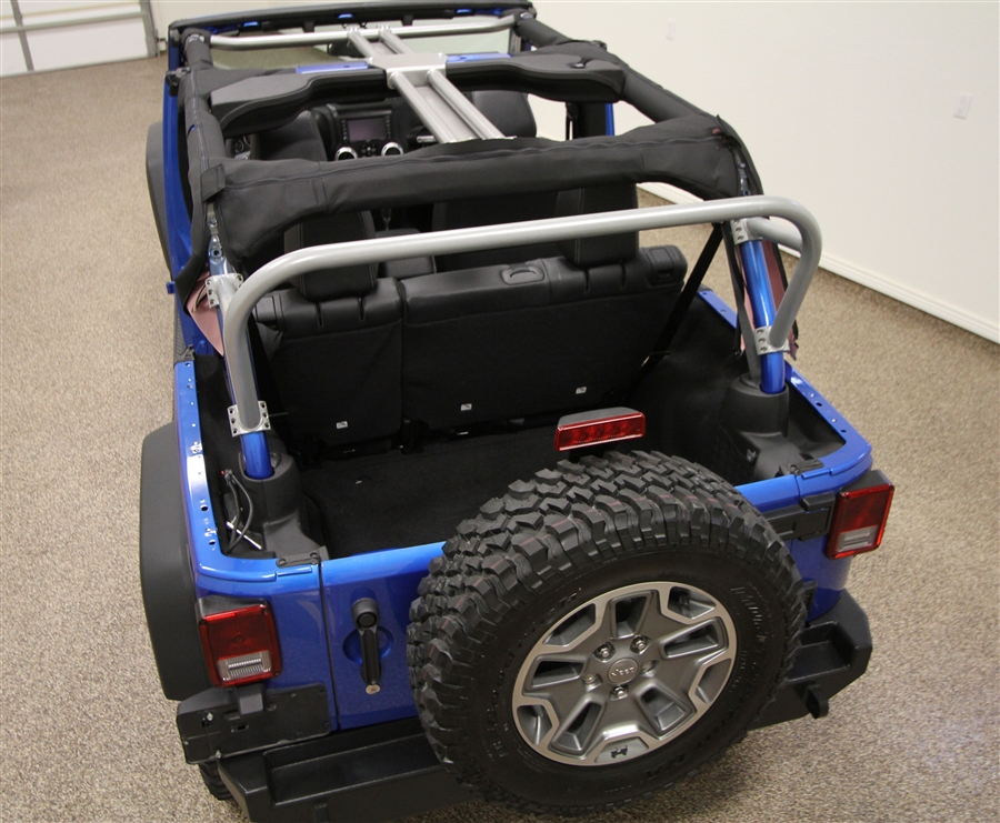 Rock Hard 4x4™ 3RD Row Sport Cage for Jeep Wrangler JK 4DR