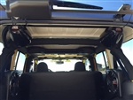 Rock Hard 4x4™ Rear Cargo Accessory Mount Bar for Jeep Wrangler JK 4DR 2007 - 2018 [RH-1034]