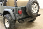 Rock Hard 4x4™ Patriot Series Rear Bumper non Tire Carrier for Jeep Wrangler CJ, YJ, TJ and LJ 1976 - 2006 [RH-2001-AC]