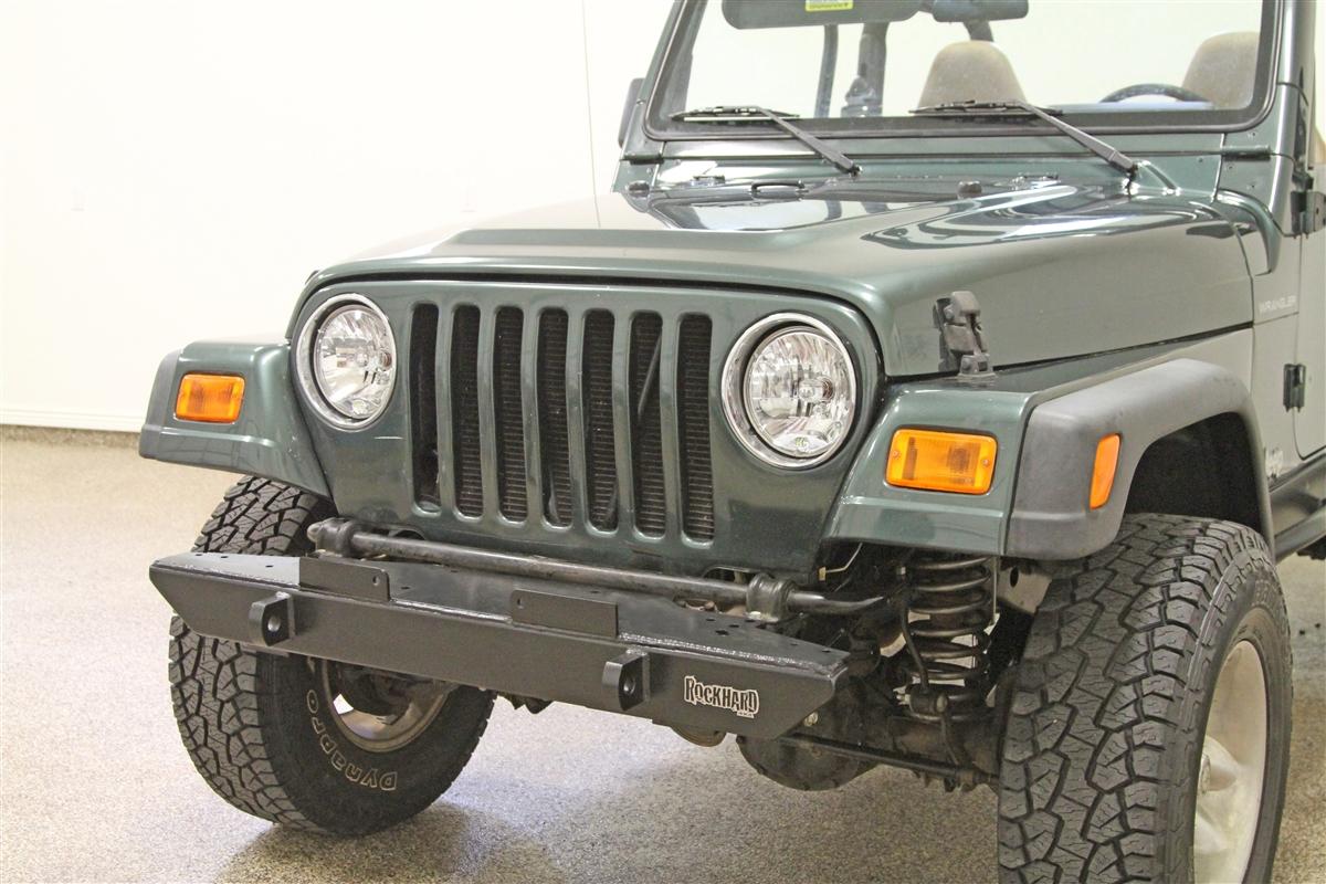 Rock Hard 4x4™ Narrow Width Legendary Front Bumper for Jeep CJ5, CJ7,  CJ8, YJ, ...