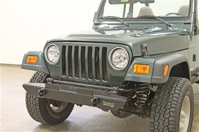Rock Hard 4x4™ Narrow Width Legendary Front Bumper for Jeep CJ5, CJ7, CJ8, YJ, TJ and LJ 1976 - 2006 [RH-4001]