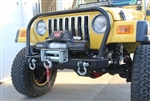 Rock Hard 4x4™ Bolt-on Grille Hoop for Jeep CJ5, CJ7, CJ8, YJ, TJ, and LJ 1976 - 2006 [RH-4001-A]