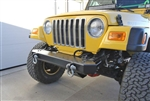 Rock Hard 4x4™ Freedom Series Front Bumper for Jeep CJ5, CJ7, CJ8, YJ, TJ, and LJ 1976 - 2006 [RH-4014]