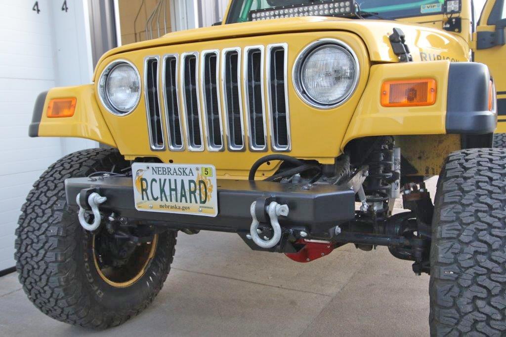 Rock Hard 4x4™ Freedom Series Front Bumper for Jeep CJ5, CJ7, CJ8, YJ, TJ,  and LJ 1976 - 2006 [RH-4014]