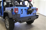 Rock Hard 4x4™ Patriot Series Rear Bumper w/o Tire Carrier for Jeep Wrangler JK 2007 - 2018 [RH-5000]