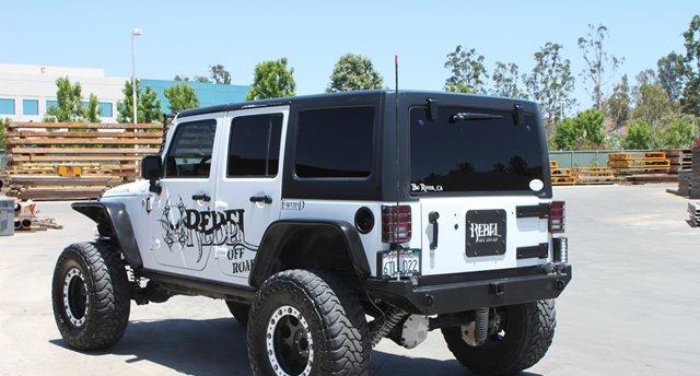Rock Hard 4x4 Patriot Series Rear Bumper W O Tire Carrier