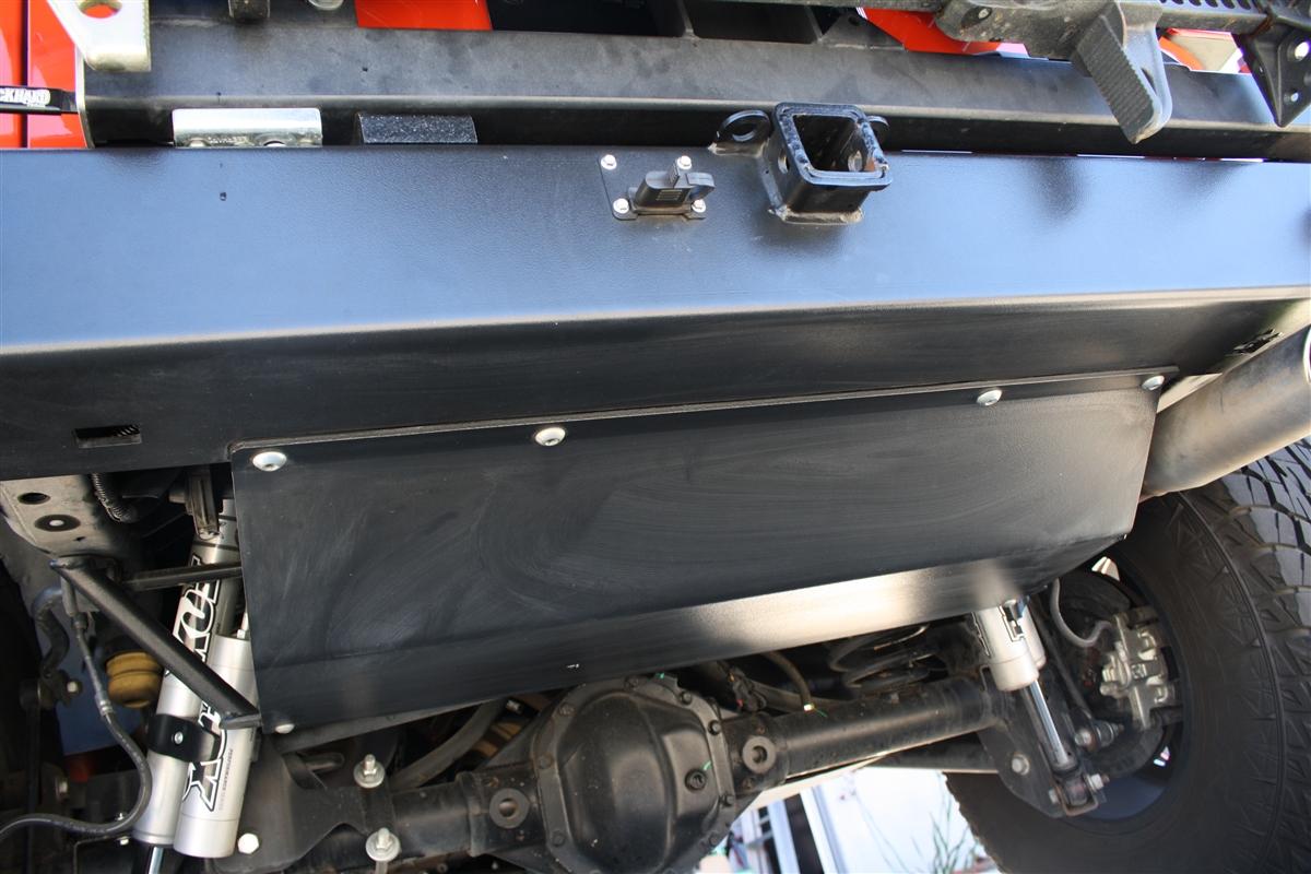 Rock Hard 4x4™ Muffler Skid Plate for RH4x4™ Rear Bumper ...