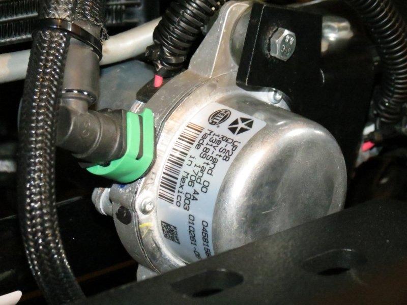 pump front vacuum jeep jk wrangler bumper relocation kit rh 4x4