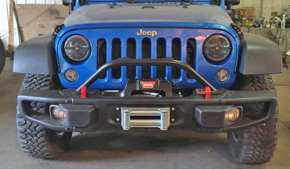 Rock Hard 4x4™ Grille Guard and Light Mount Hoop for 10A ...