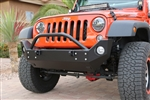 Rock Hard 4x4™ Patriot Series Mid-Width Front Bumper for Jeep Wrangler JK 2007 - 2018 [RH-5023]