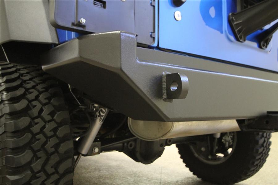 Rock Hard 4x4 Aluminum Patriot Series Rear Bumper W O