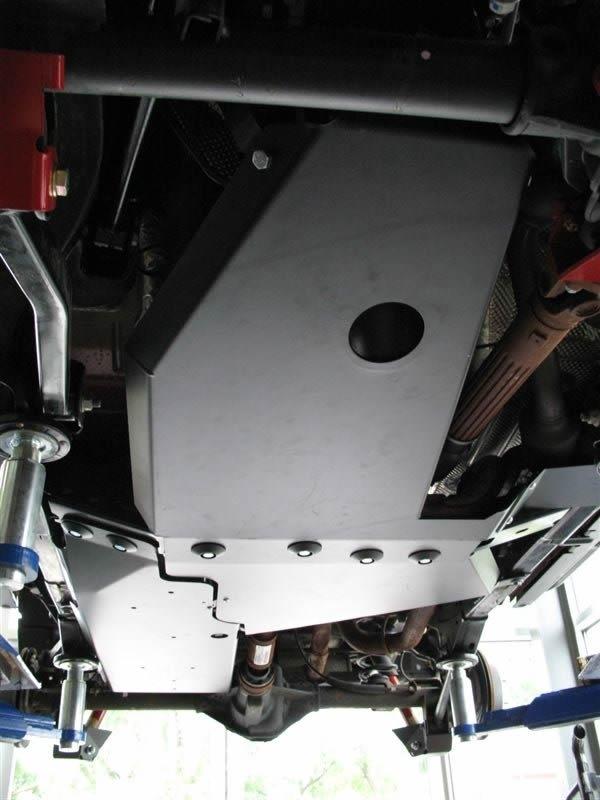 Rock Hard 4x4 Oil Pan Transmission Skid Plate Long