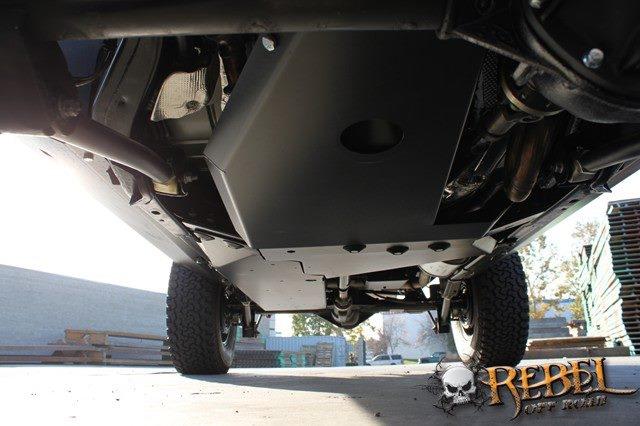 2018 Ford Bronco >> Rock Hard 4x4™ Oil Pan / Transmission Skid Plate - Long Arm Suspension for Jeep Wrangler JK 2 ...